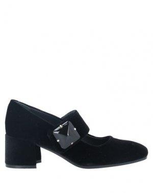 Туфли EVALUNA. Цвет: черный