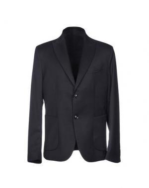 Пиджак LUCA BERTELLI. Цвет: темно-синий