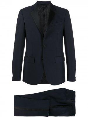 Однотонный костюм-двойка Givenchy. Цвет: синий