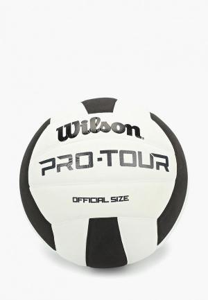 Мяч волейбольный Wilson PRO TOUR. Цвет: белый