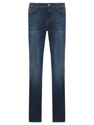 Хлопковые джинсы-клеш LES COPAINS