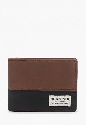 Кошелек Quiksilver NATIVE COUNTRY M WLLT CSD0. Цвет: коричневый