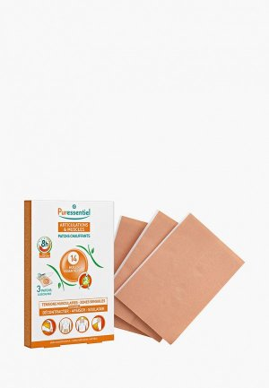 Средство Puressentiel - патчи для тела, 14 эфирных масел, 3 шт.. Цвет: прозрачный
