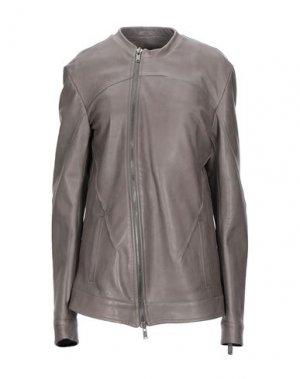 Куртка 10SEI0OTTO. Цвет: голубиный серый
