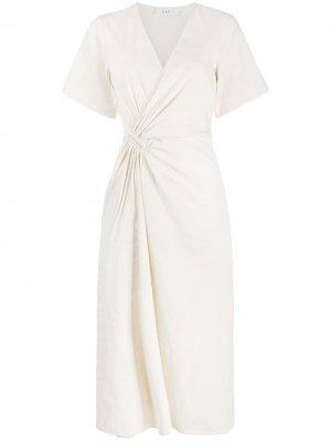 Платье с запахом A.L.C.. Цвет: белый