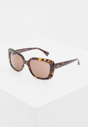 Очки солнцезащитные Ralph Lauren RA5241 500373. Цвет: коричневый