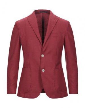 Пиджак ROYAL ROW. Цвет: красный