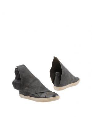 Полусапоги и высокие ботинки AIR STEP. Цвет: свинцово-серый