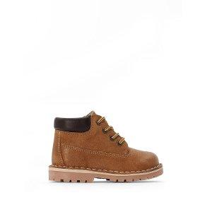 Ботинки LaRedoute. Цвет: желтый