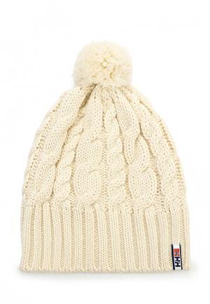 Комплект: шапка и варежки Helly Hansen MONTREAL CHUNKY KNIT SET. Цвет: бежевый