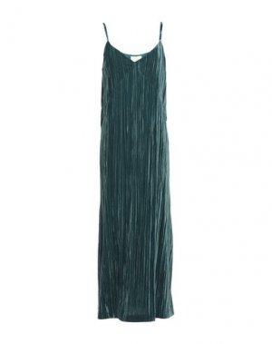 Длинное платье GOTHA. Цвет: цвет морской волны