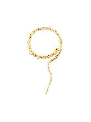 Ожерелье Glaucus Paula Mendoza. Цвет: золотистый