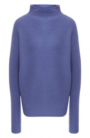 Кашемировый пуловер BOSS. Цвет: голубой