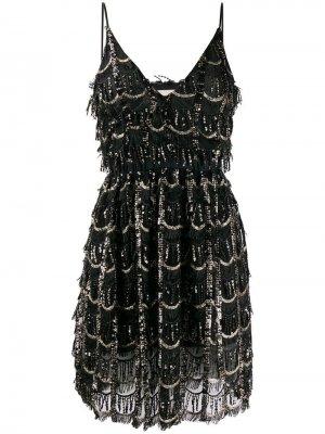 Платье с пайетками Aniye By. Цвет: черный