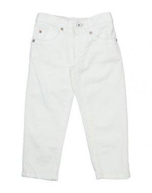 Повседневные брюки GRANT GARÇON. Цвет: белый