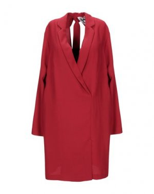 Короткое платье 8PM. Цвет: красный