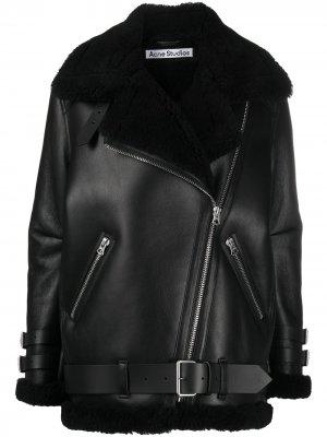 Пальто оверсайз Acne Studios. Цвет: черный