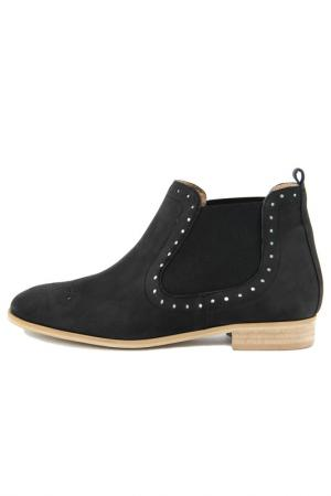 Ботинки GIANNI GREGORI. Цвет: black