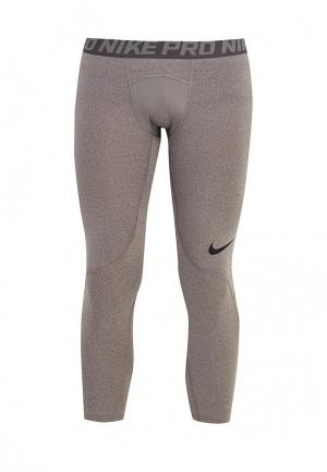 Тайтсы Nike Mens Pro Tights. Цвет: серый