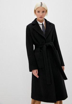 Пальто Hugo Mesua. Цвет: черный