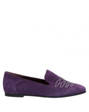 Мокасины GABRIELE. Цвет: фиолетовый