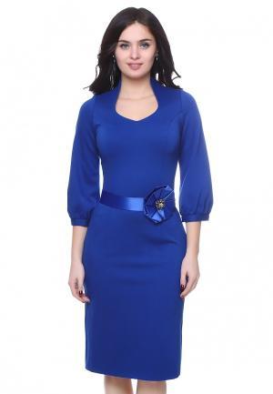 Платье Grey Cat EIVORY. Цвет: синий