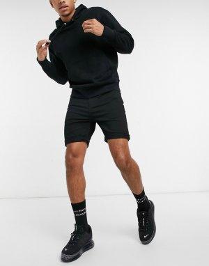 Черные джинсовые шорты Goodstock-Черный Globe