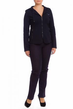 Куртка LAFEI-NIER. Цвет: сине-черный