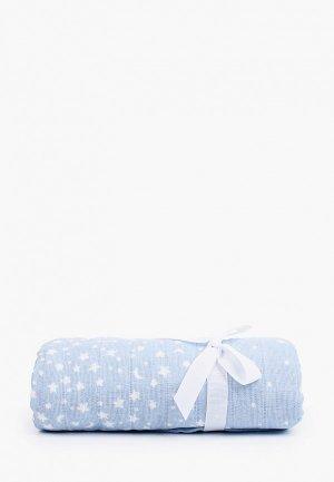 Пеленка aden+anais Rising star, 120х120 см. Цвет: голубой