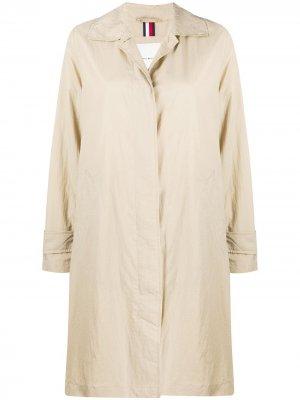 Пальто средней длины Tommy Hilfiger. Цвет: нейтральные цвета