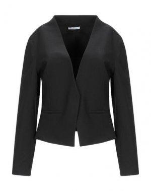 Пиджак BLUEFEEL by FRACOMINA. Цвет: черный