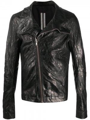 Фактурная куртка Rick Owens. Цвет: черный