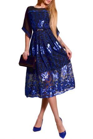 Платье FRANCESCA LUCINI. Цвет: мультицвет