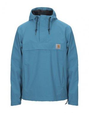 Куртка CARHARTT. Цвет: бирюзовый