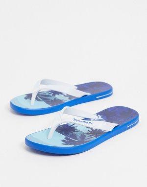 Синие шлепанцы -Синий Ipanema