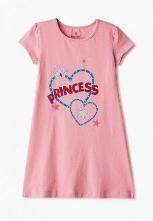 Платье домашнее Baykar. Цвет: розовый