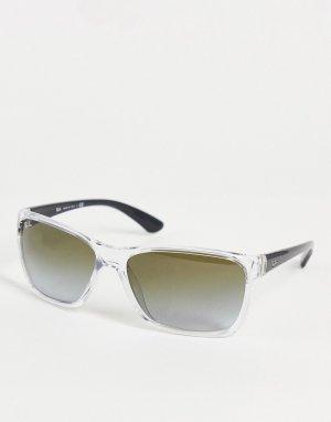 Солнцезащитные очки с квадратными линзами Ray Ban-Серый Ray-Ban