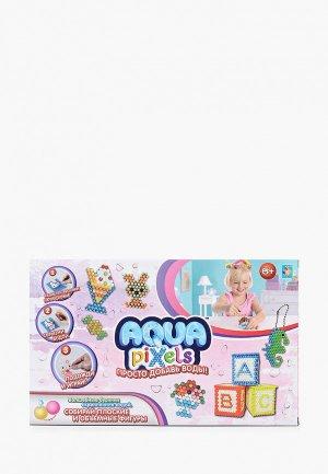 Набор для творчества 1Toy Aqua pixels. Цвет: разноцветный