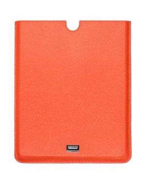 Чехол DOLCE & GABBANA. Цвет: оранжевый