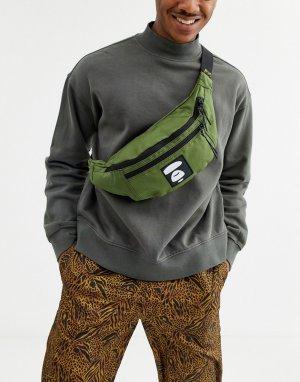 Сумка-кошелек на пояс с логотипом AAPE By A Bathing Ape-Зеленый APE®