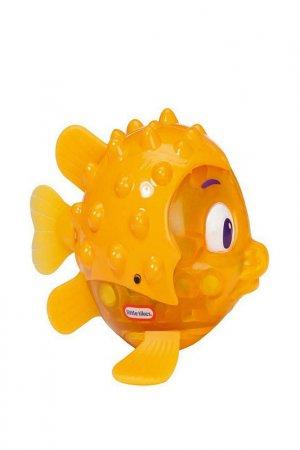 Рыбка Огонек (иглобрюх) Little Tikes. Цвет: желтый