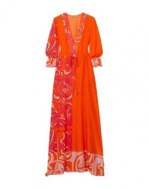Кафтан EMILIO PUCCI. Цвет: оранжевый
