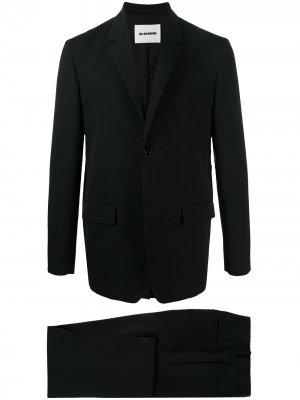 Костюм с однобортным пиджаком Jil Sander. Цвет: черный