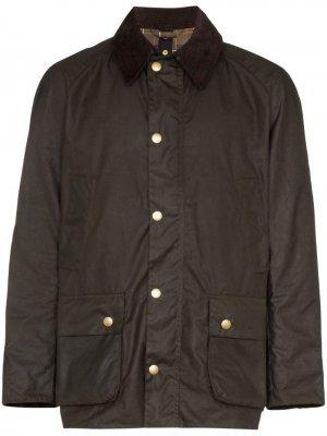 Вощеная куртка Ashby Barbour. Цвет: коричневый