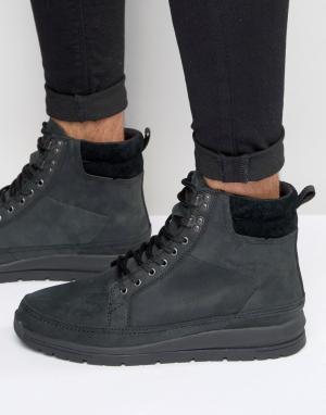 Кожаные ботинки Loadha Boxfresh. Цвет: черный