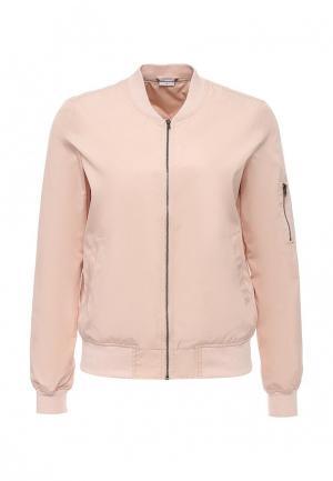 Куртка Jacqueline de Yong. Цвет: розовый