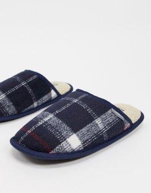 Клетчатые слиперы на подкладке из искусственного меха -Многоцветный Dunlop