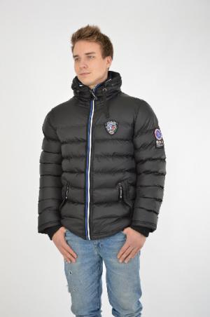 Куртка утепленная Extreme Land. Цвет: черный