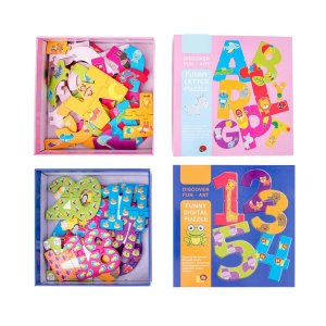 Детский мультяшный пазл 1 пакет SHEIN. Цвет: многоцветный