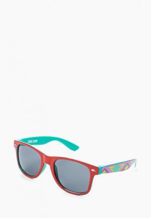 Очки солнцезащитные True Spin. Цвет: красный